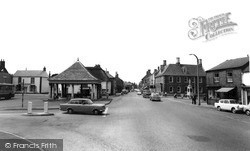 Whittlesey, Market Place c.1965