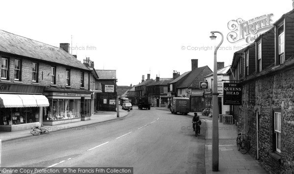 Photo of Whittlesey, Market Street c.1965