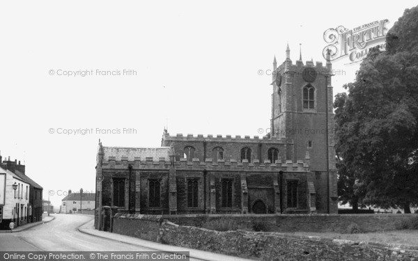 Photo of Whittlesey, St Andrew's Church c.1965
