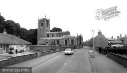 St Andrew's Church c.1965, Whittlesey