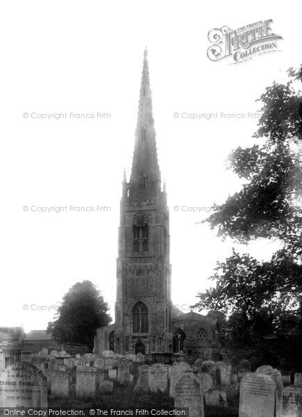 Photo of Whittlesey, St Mary's Church 1904