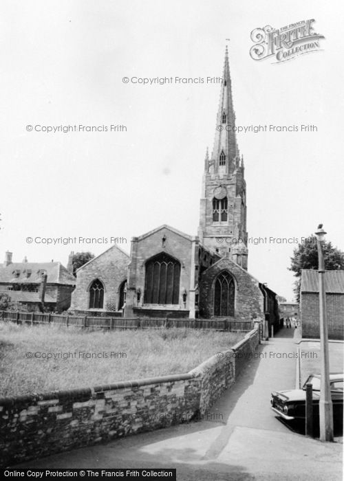 Photo of Whittlesey, St Mary's Church c.1965