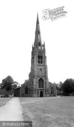 St Mary's Church c.1965, Whittlesey