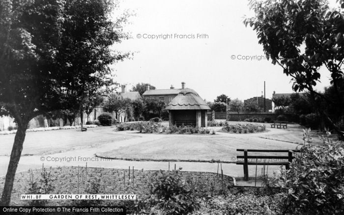 Photo of Whittlesey, The Garden Of Rest c.1965