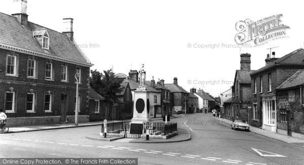 Photo of Whittlesey, The Memorial c.1965