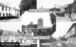 Whittlesford, Composite c.1955
