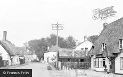 Whittlesford, High Street c.1955
