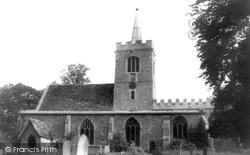 St Mary And St Andrew Parish Church c.1955, Whittlesford