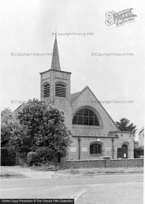 Photo of Whittlesford, The Congregational Church c.1955