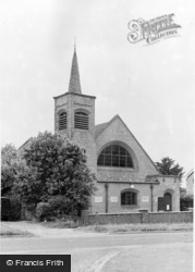 The Congregational Church c.1955, Whittlesford