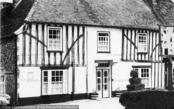 Photo of Whittlesford, The Red Lion Hotel c.1955