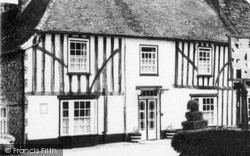 The Red Lion Hotel c.1955, Whittlesford