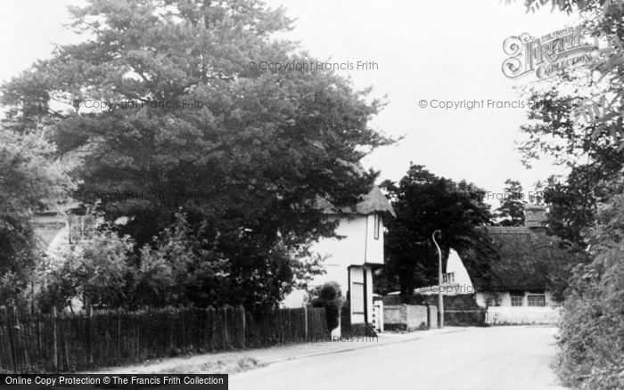 Photo of Whittlesford, West End c.1955