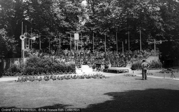Whitton, Kneller Hall Bandstand c1965