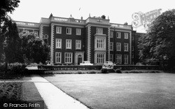 Lawn Of Kneller Hall c.1965, Whitton