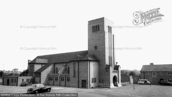 Photo of Whitton, St Augustine's Church c.1965