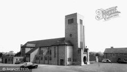 St Augustine's Church c.1965, Whitton