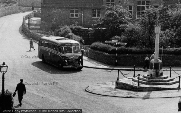 Photo of Whitwell, A Coach In The Square c.1965