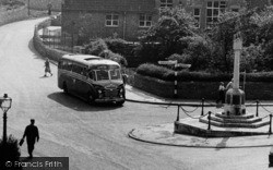 A Coach In The Square c.1965, Whitwell