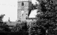Whitwell, Church,  From Scotland Street c.1955