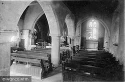 Whitwell, Church Interior c.1900