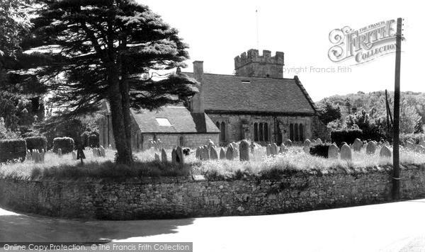 Photo of Whitwell, Church Of St Mary And St Rhadegund c.1955