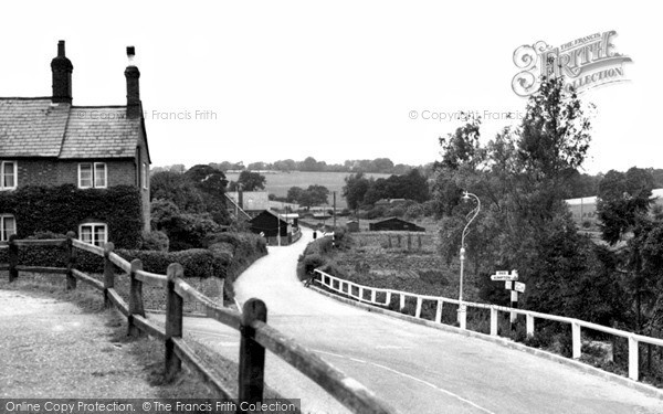 Photo of Whitwell, General View c.1955