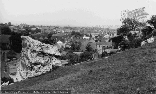 Photo of Whitwell, High Hill Rocks c.1955