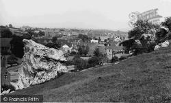 High Hill Rocks c.1955, Whitwell