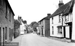 Whitwell, High Street 1952