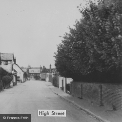 High Street c.1955, Whitwell