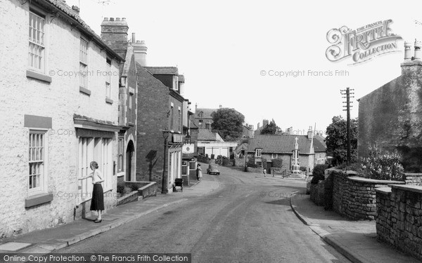 Photo of Whitwell, High Street c.1960