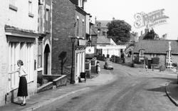 High Street c.1960, Whitwell