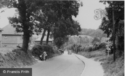 Horn Hill c.1950, Whitwell