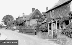 Horn Hill c.1955, Whitwell