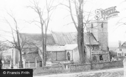 St Lawrence's Church c.1955, Whitwell