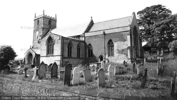 Photo of Whitwell, St Lawrence's Church c.1960