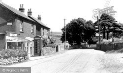 Whitwell, The Post Office c.1955