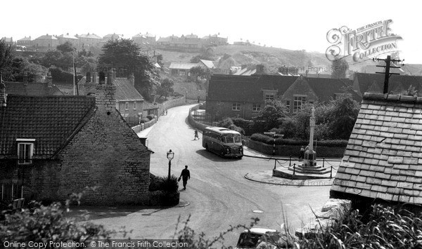 Photo of Whitwell, The Square c.1965