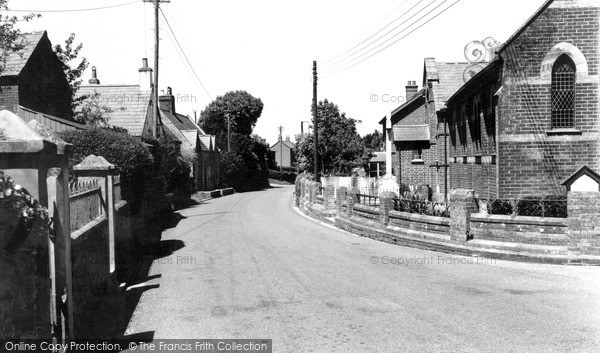 Photo of Whitwell, The Village c.1955