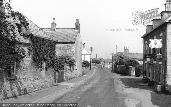 Photo of Whitwell, The Village c.1960