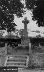 The War Memorial c.1950, Whitwell
