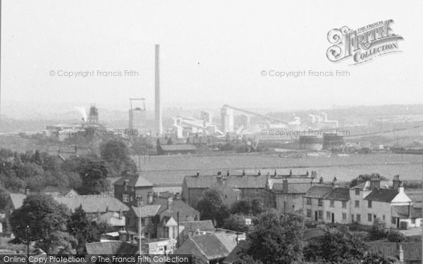 Photo of Whitwell, View From Sunnyside c.1965