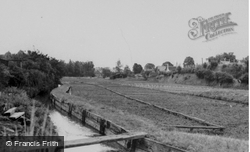 Watercress Beds c.1950, Whitwell
