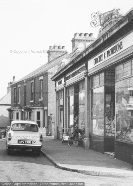 Photo of Whitwell, Welbeck Street, Grocery Shop c.1965