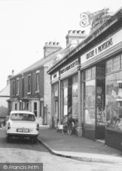 Welbeck Street, Grocery Shop c.1965, Whitwell