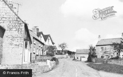 Worksop Road c.1955, Whitwell