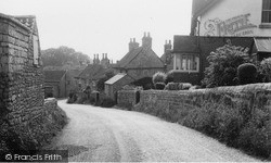 Worksop Road c.1960, Whitwell