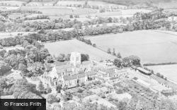 Whitwick, Aerial View, Mount St Bernard Abbey c.1955