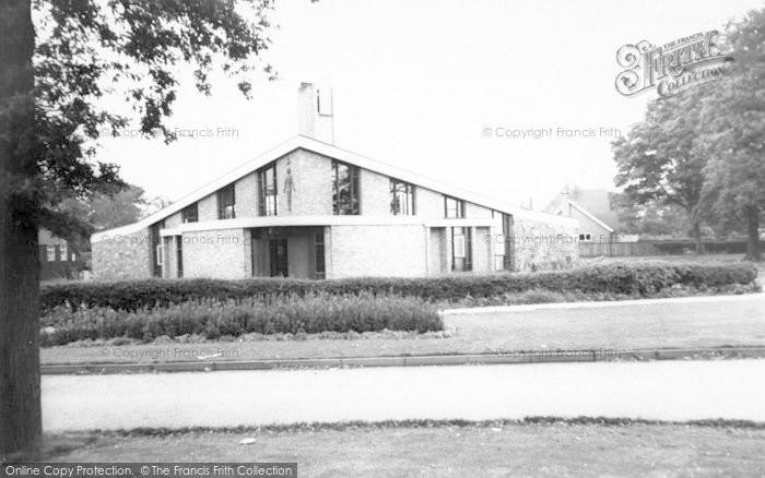 Photo of Whitwick, Broom Leys Church c.1965
